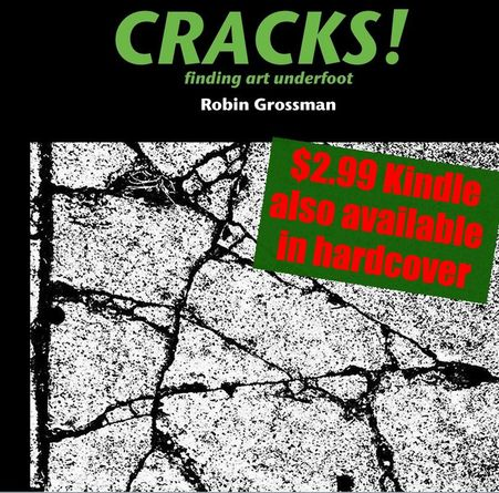 Cracks! Finding Art Underfoot Book Cover